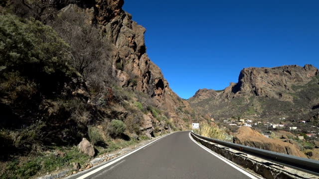 Gran Canaria GC60 entering Ayacata