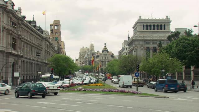 WS ZI Gran Via with Metropolis Building, Madrid, Spain