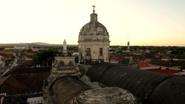 granada in nicaraqua - nicaragua stock videos and b-roll footage