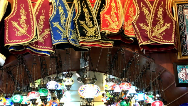 grand bazaar - grand bazaar istanbul stock videos and b-roll footage