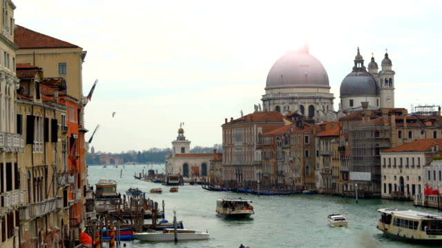 Grand Canal in Venedig, Time Lapse