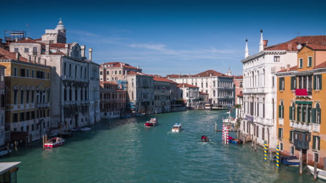 grand canal in venice, italy - venice italy stock videos & royalty-free footage