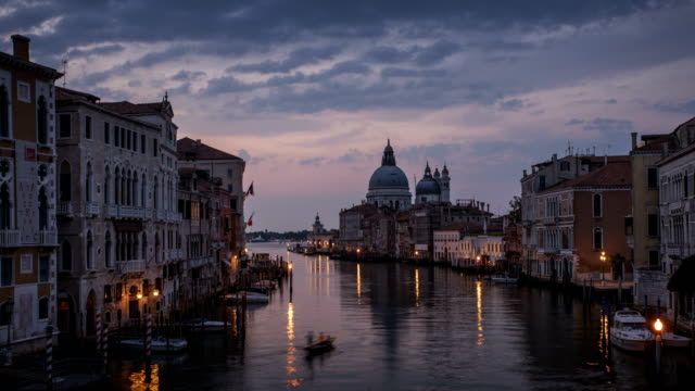 grand canal in venice - grand canal venice stock videos & royalty-free footage