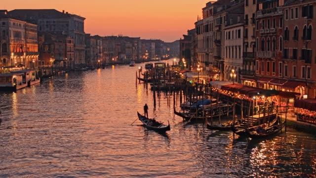 イタリア ヴェネツィア 大運河 - イタリア点の映像素材/bロール