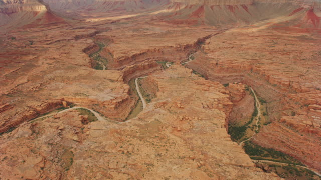 aerial grand canyon - canyon video stock e b–roll