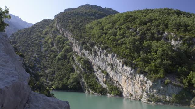 grand canyon du verdon and verdon river - var bildbanksvideor och videomaterial från bakom kulisserna