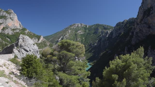 grand canyon du verdon - var bildbanksvideor och videomaterial från bakom kulisserna