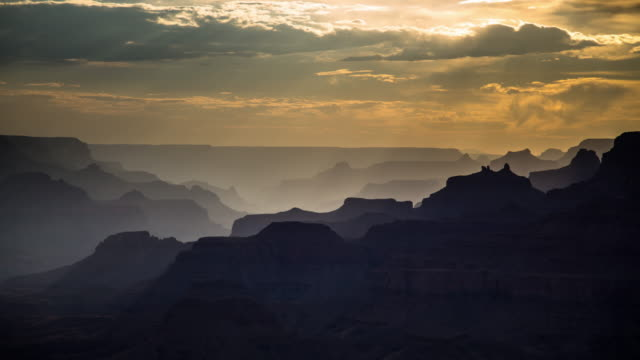 vídeos de stock e filmes b-roll de grand canyon from desert view lookout - time lapse - grand canyon