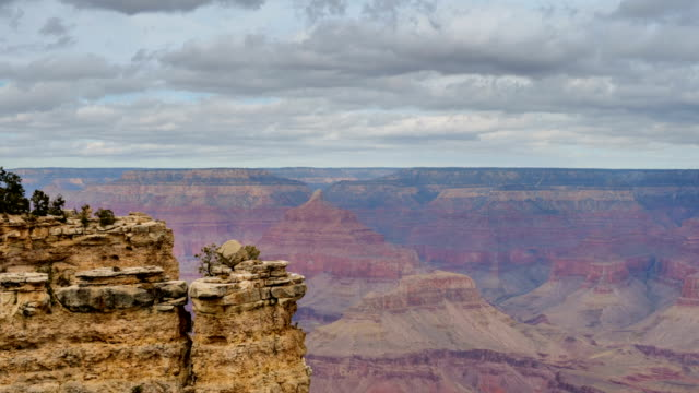 grand canyon national park in the winter - red rocks stock videos & royalty-free footage