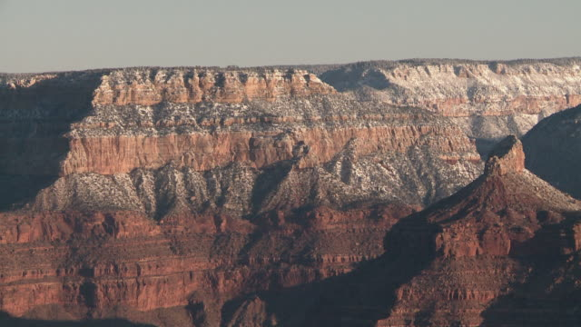 grand canyon national park in u.s.a. - rock strata stock videos & royalty-free footage