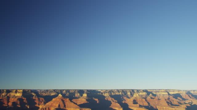 grand canyon national park sunrise colorado plateau arizona - colorado plateau stock videos & royalty-free footage