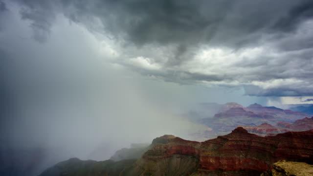 Grand Canyon an einem stürmischen Tag