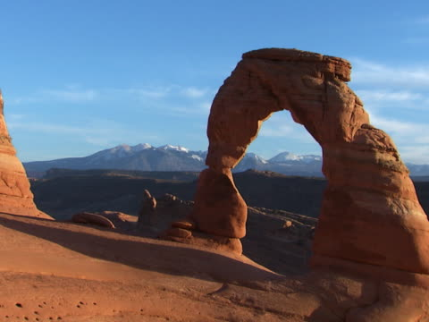 grand canyon: sandstone arch - sandstone stock videos & royalty-free footage