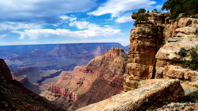 grand canyon time lapse - grand canyon video stock e b–roll