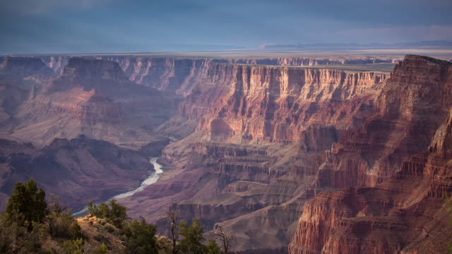 vídeos de stock e filmes b-roll de grand canyon time lapse - grand canyon