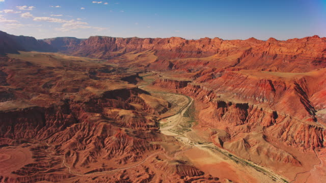 aerial grand canyon, usa - grand canyon national park video stock e b–roll