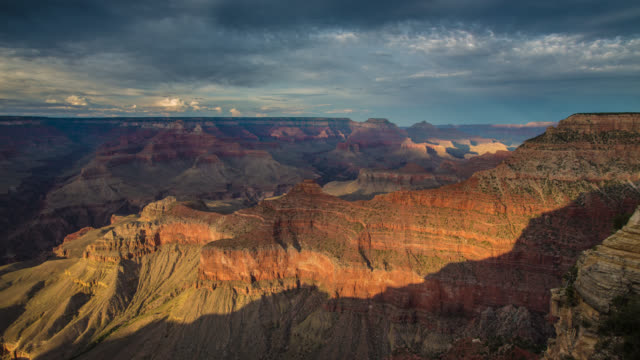time lapse: grand canyon - grand canyon stock videos & royalty-free footage