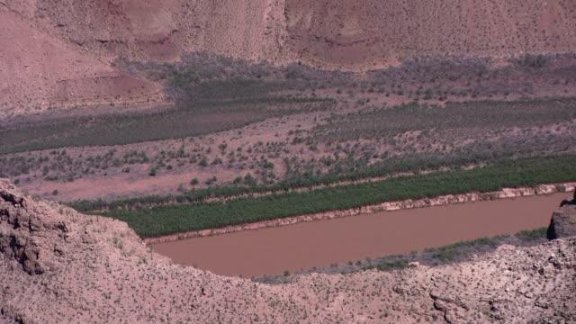 Vista panorámica del gran cañón de alta definición