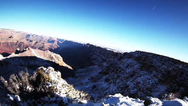 WS Grand Canyon with snow