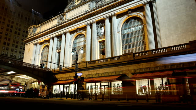grand central cinemagraph - grand central station manhattan stock videos & royalty-free footage