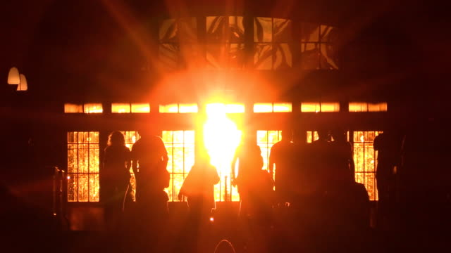 grand central interior sunset in new york city - international landmark stock videos & royalty-free footage