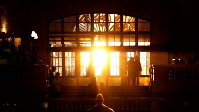 Grand Central New York City Sunset