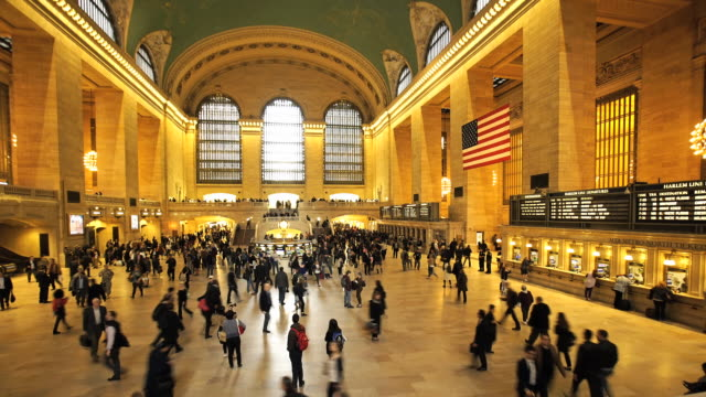 Grand Central - panoramic time lapse