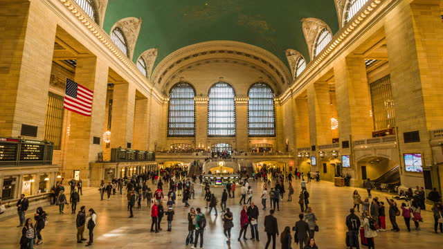 grand central station in new york - underground station stock videos & royalty-free footage