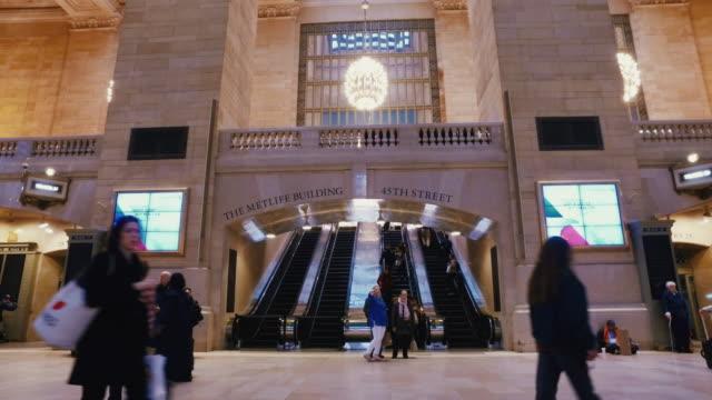 グランドセントラル駅のニューヨーク市 - グランドセントラル駅点の映像素材/bロール