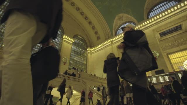 grand central station - グランドセントラル駅点の映像素材/bロール