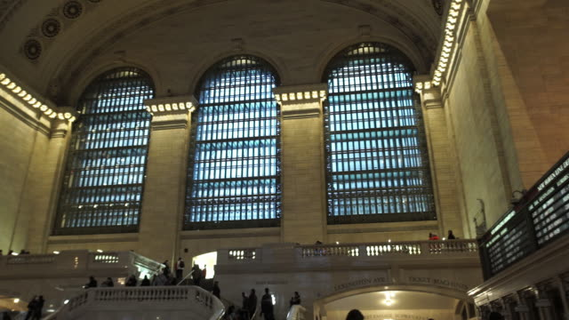 grand central station - grand central station manhattan stock videos & royalty-free footage