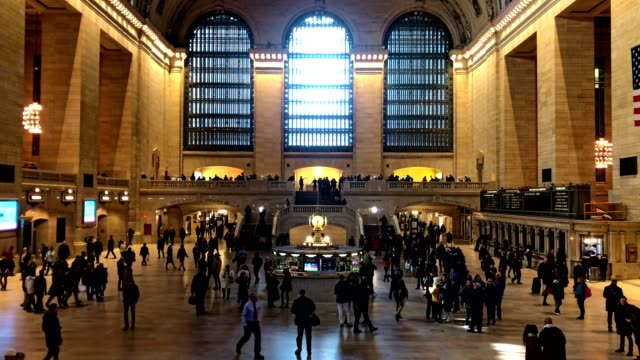 grand central terminal ambience - grand central station manhattan stock videos & royalty-free footage