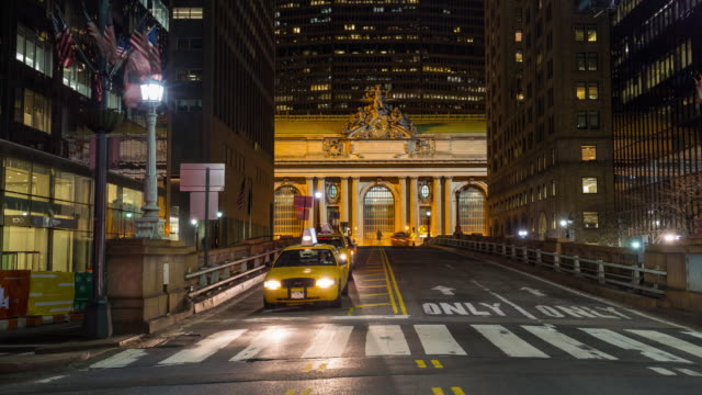 Grand Central Terminal a notte