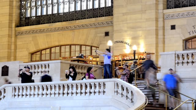 grand central terminal during summer 42nd street midtown manhattan new york city usa - 42nd street stock videos & royalty-free footage