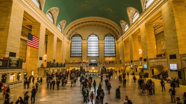 grand central terminal, new york - grand central station manhattan stock videos & royalty-free footage