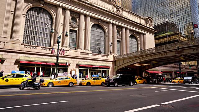 vídeos de stock e filmes b-roll de grand central terminal - estação