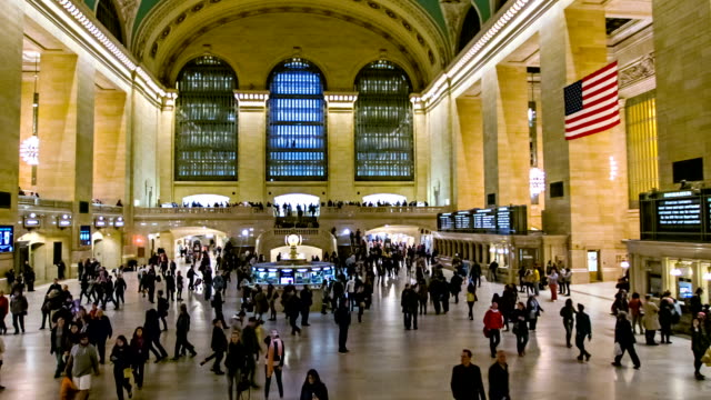 grand central terminal - railway station stock videos & royalty-free footage