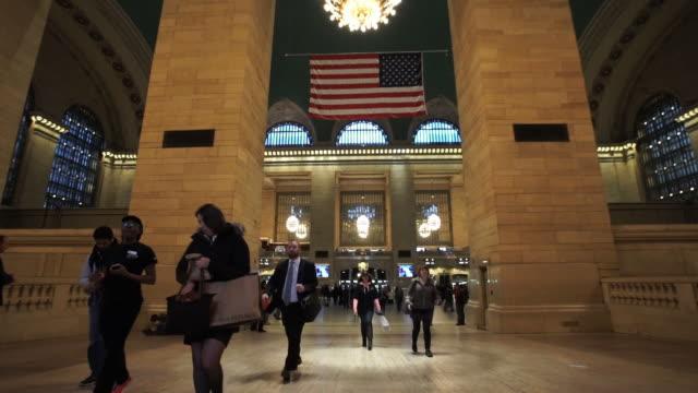 grand central - グランドセントラル駅点の映像素材/bロール