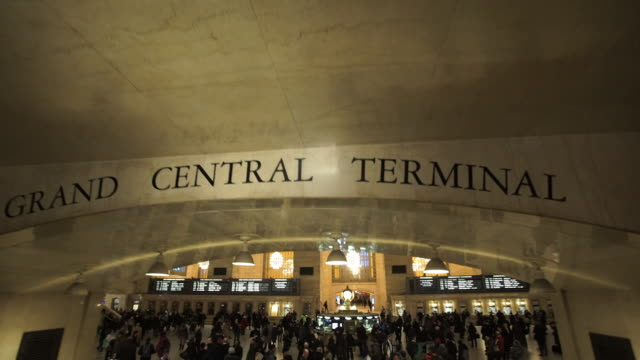 grand central - grand central station manhattan stock videos & royalty-free footage