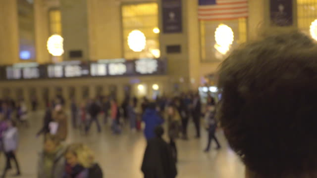 grand central wandering - グランドセントラル駅点の映像素材/bロール