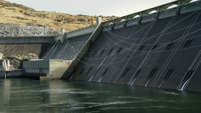 Grand Coulee Dam and Reservoir in Washington