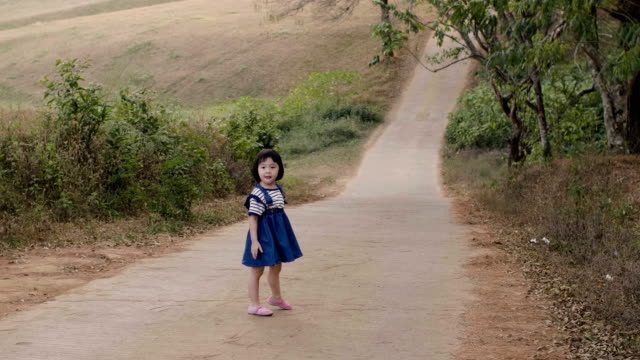 grand mother and grand daughter enjoyment in national park - mae hong son province stock videos and b-roll footage