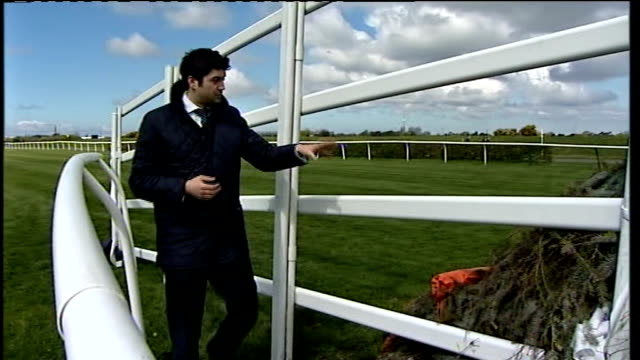 grand national preview women jockeys katie walsh interview sot reporter to camera spactators laying bets with oncourse bookmaker close shot of wad of... - platform shoe stock videos and b-roll footage