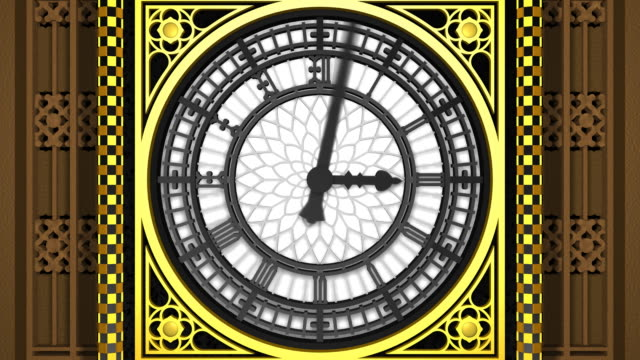 grand old clock (big ben) - big ben stock videos & royalty-free footage