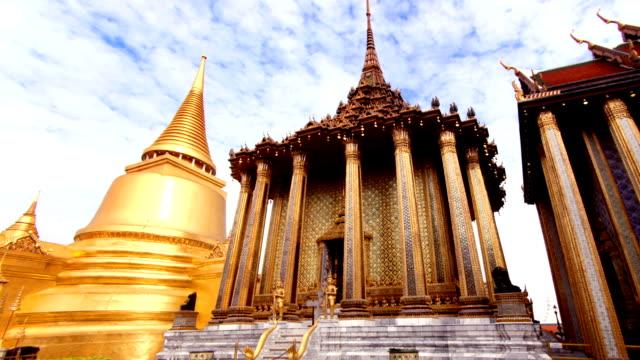 grand palace, bangkok, thailand - thailand stock videos & royalty-free footage