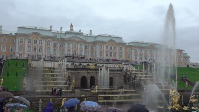 Grand Peterhof Palace and the Grand Cascade