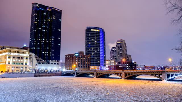 Grand Rapids, MI im winter