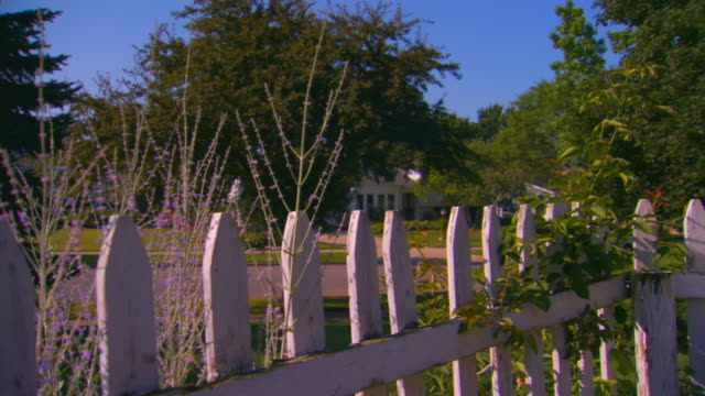 grand rapids, michiganfence close up - picket fence stock videos and b-roll footage
