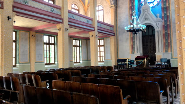 grand synagogue of edirne - judaism stock videos and b-roll footage
