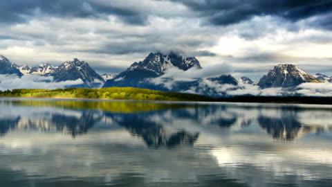 grand teton national park - teton range stock videos & royalty-free footage